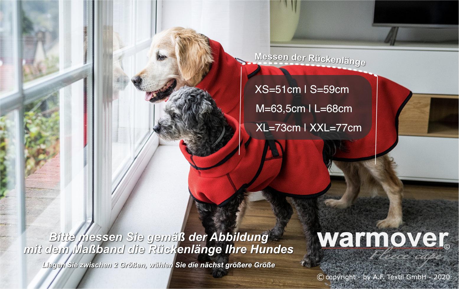 warmover cape groessenfindung deutsch 1