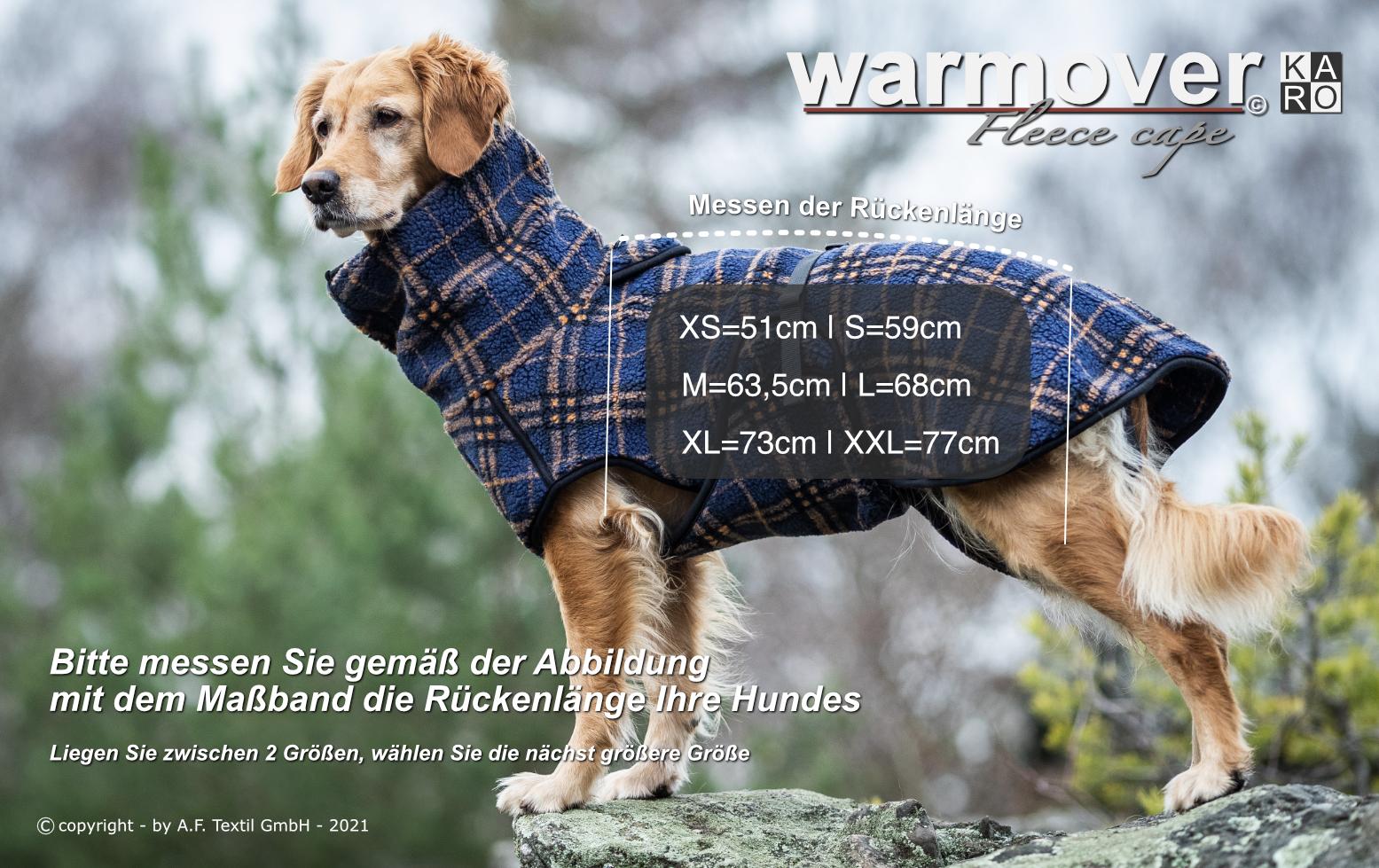 warmover cape KARO deutsch