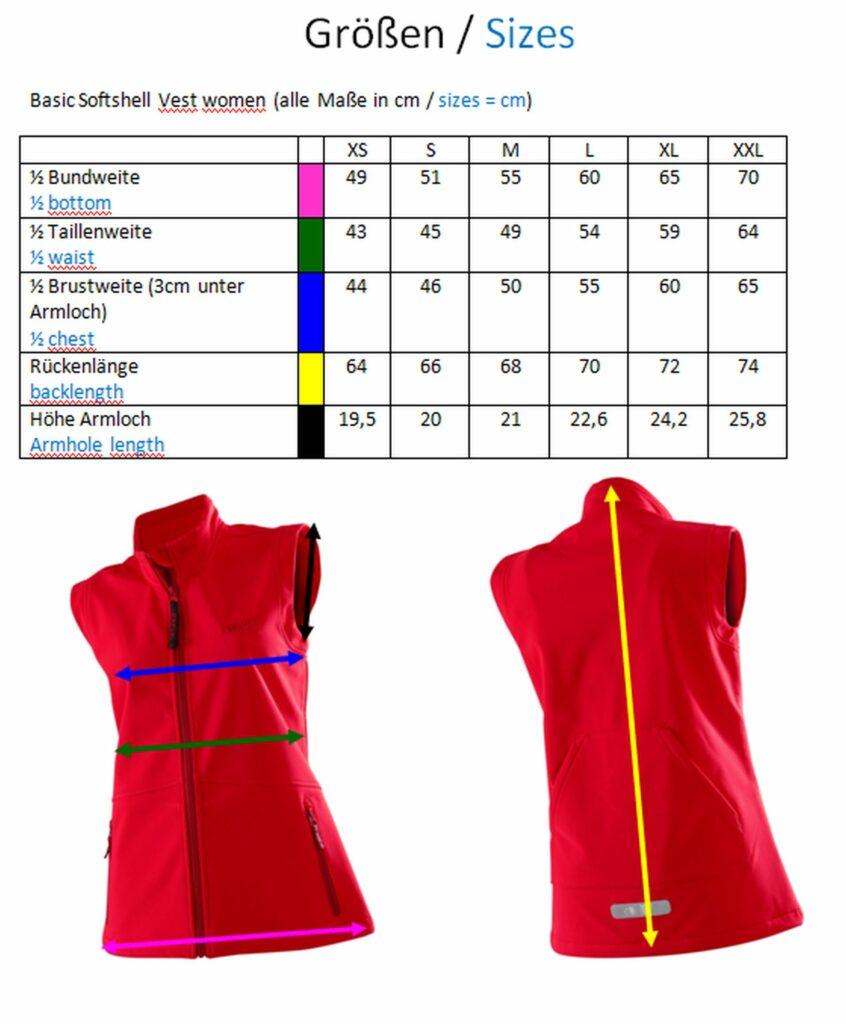Basic Vest women