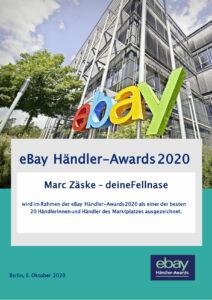 ebay Händler Awards 2020 Auszeichnung