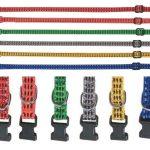 Welpen Hunde Halsband Welpenhalsband verstellbar Reflektierend 6 Farben 25 35cm 253229502182 3